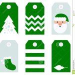 Cute Modern Christmas Holiday Gift Tags Printables Stock Vector   Free Printable Christmas Price Tags