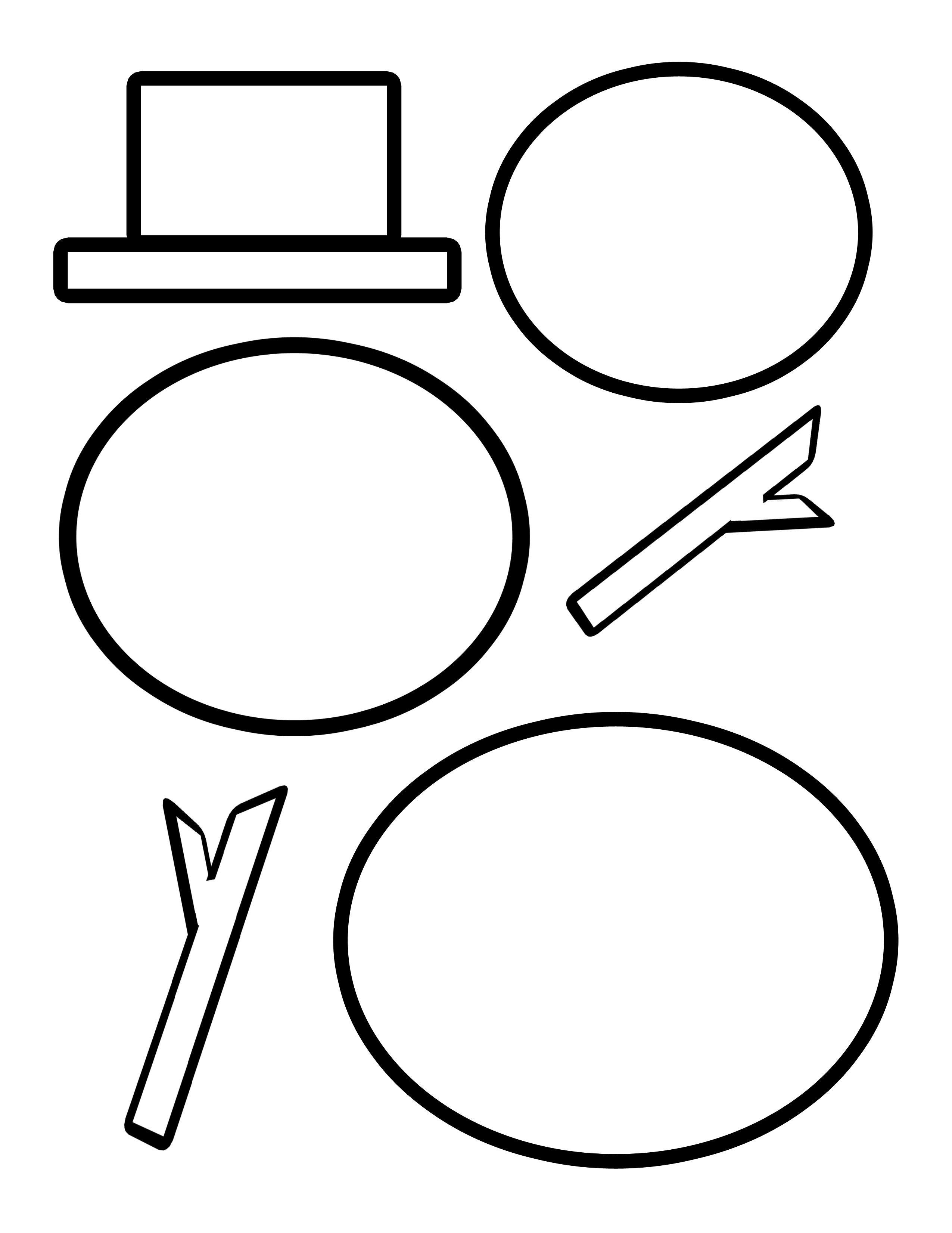 Cutting Templates | Templates | Snowman, Snowman Hat, Snowman Crafts - Free Printable Snowman Face Stencils