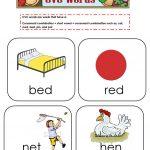Cvc Words Flashcards Worksheet   Free Esl Printable Worksheets Made   Free Printable Cvc Words With Pictures