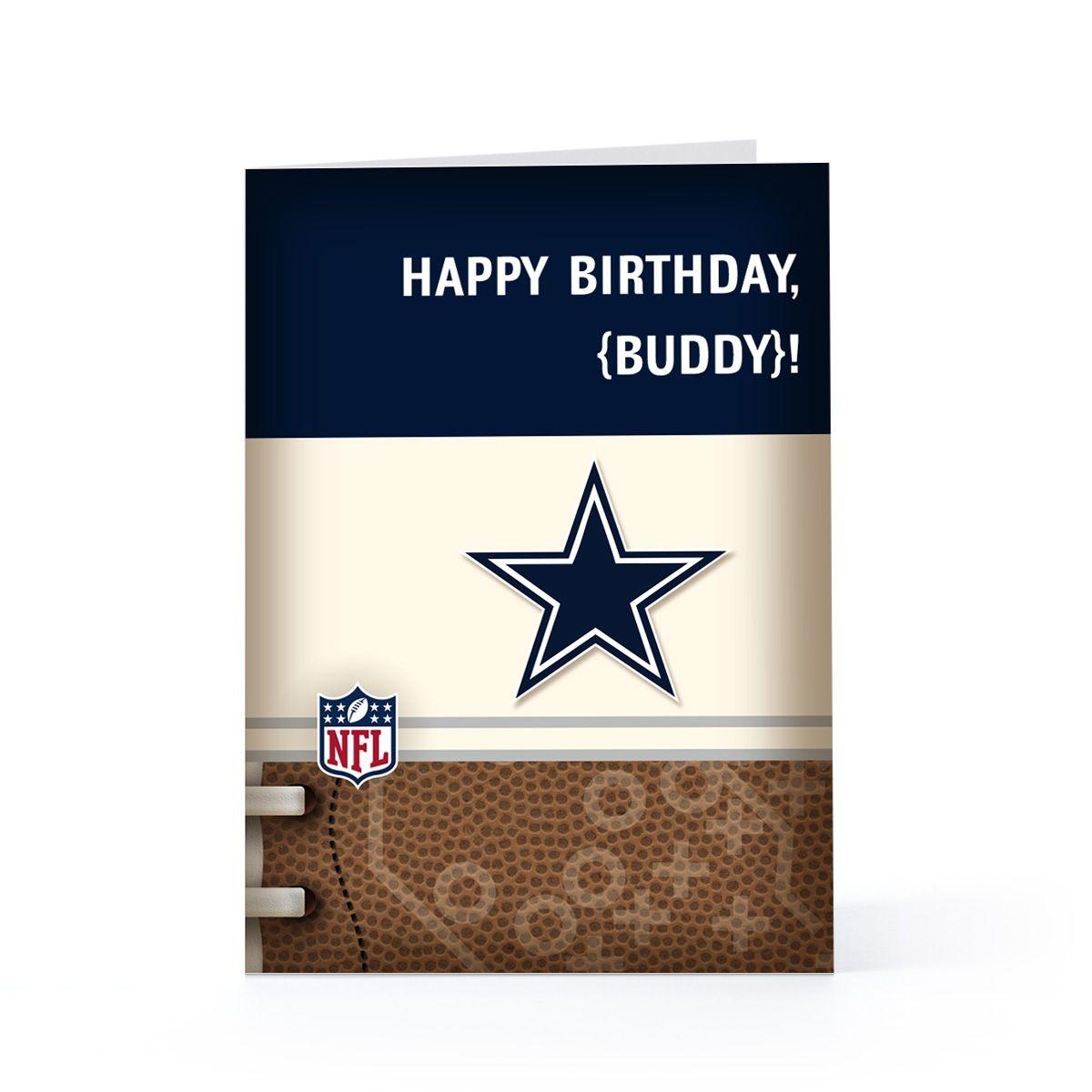Dallas Cowboys Birthday Cards | Other Hallmark Sites | Birthday - Free Printable Cowboy Birthday Cards