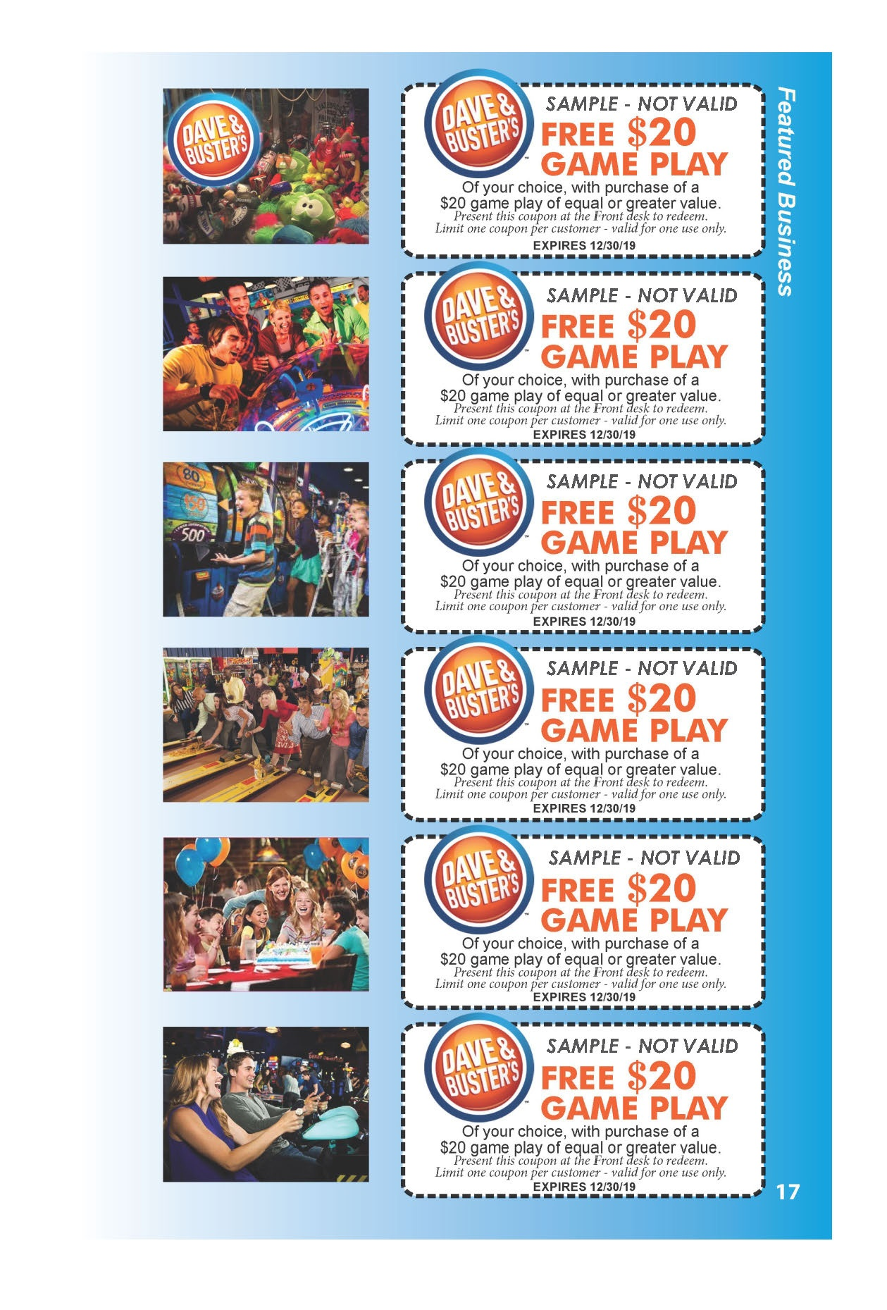 Dave And Busters Special Deals - Free Printable Dave And Busters Coupons