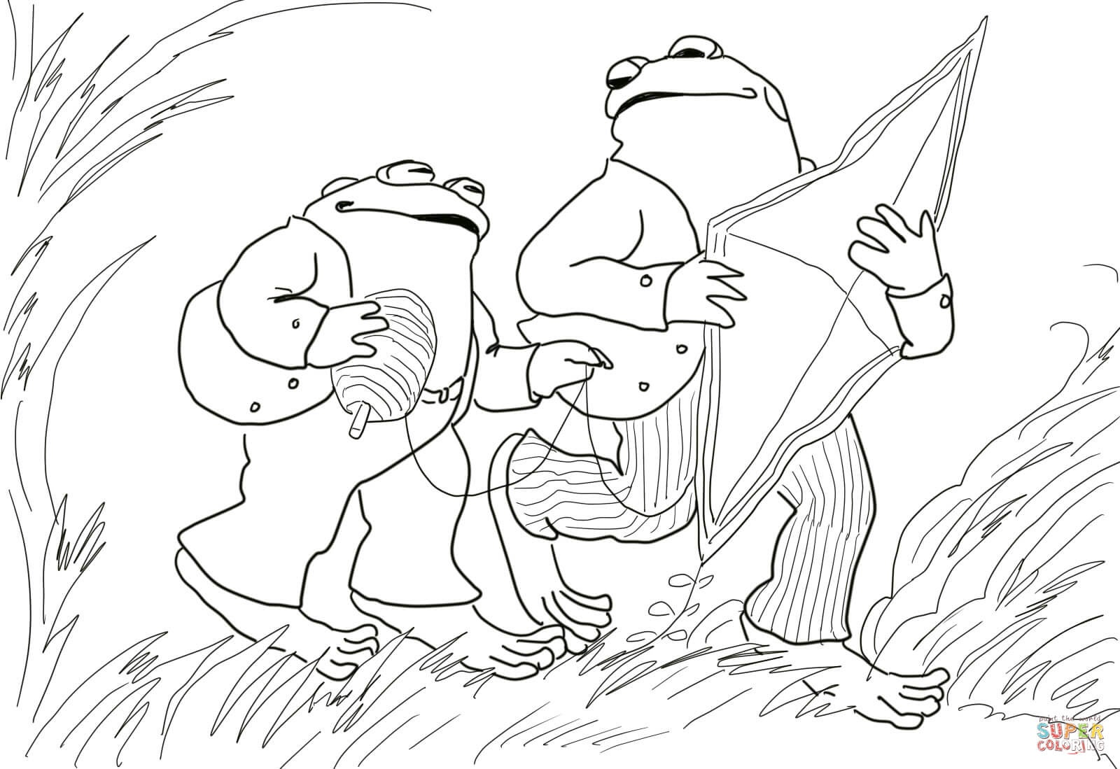 Days With Frog And Toad Coloring Page | Free Printable Coloring Pages - Free Frog And Toad Are Friends Printables