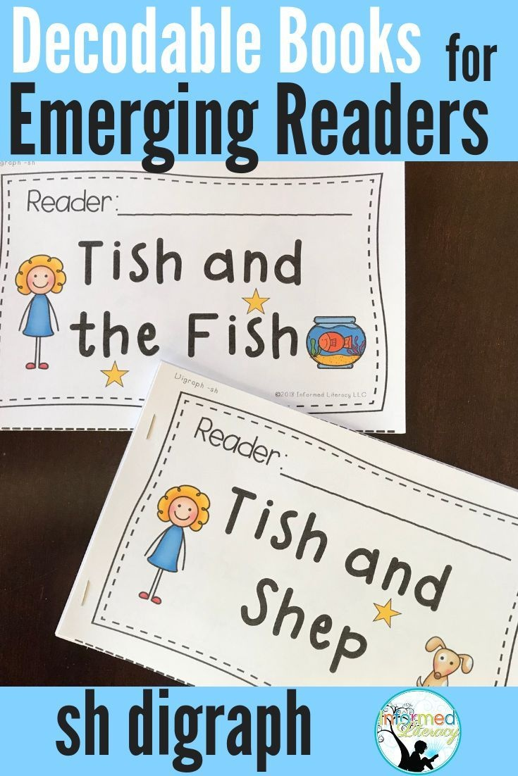Decodable Reader Pack: Digraphs - Sh | Kindergarten Reading - Free Printable Decodable Books For Kindergarten