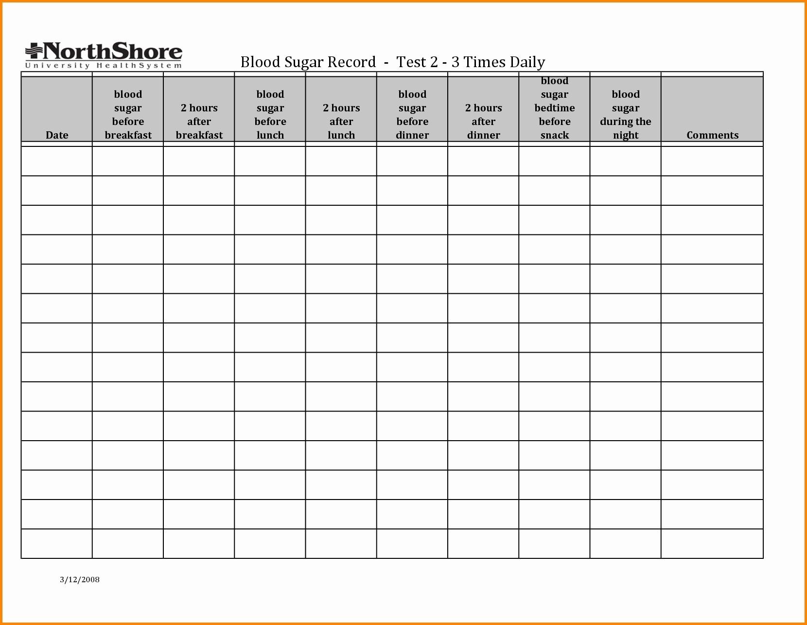 Diabetic Log Sheets Unique Diabetic Blood Sugar Log Sheet - Free Diabetic Log Book Printable
