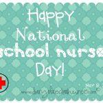 Diary Of A School Nurse: National School Nurse Day  Free Printable   Nurses Day Cards Free Printable