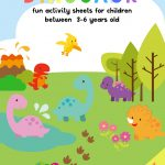 Dinosaur Activity Sheets For 3 5 Years Old | Free Printable Pack   Free Printable Dinosaur Activities For Kindergarten