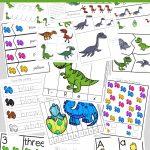 Dinosaur Preschool Printable Pack   Fun With Mama   Free Printable Dinosaur Activities For Kindergarten