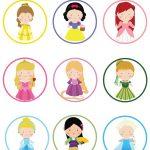Disney Princess Cupcake Toppers With Printable And Diy Tutorial   Free Printable Disney Stories