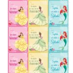 Disney Princess Valentine Cards | Daughter In A Nutshell | Printable   Free Printable Valentines Day Cards For My Daughter