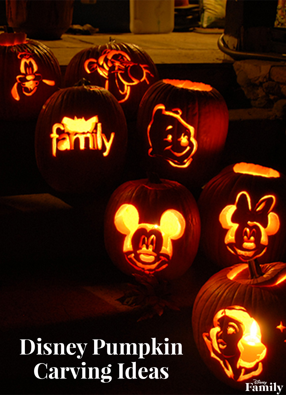 Disney Pumpkin Carving Ideas   Disney Family - Free Pumpkin Carving Patterns Disney Printable