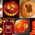 Disney Pumpkin Stencils: Over 130 Printable Pumpkin Patterns   Free Printable Pumpkin Templates