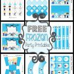Disney's Frozen Party Printables ~ Free   Frozen Birthday Banner Printable Free