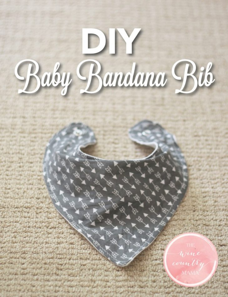 Free Printable Baby Bandana Bib Pattern
