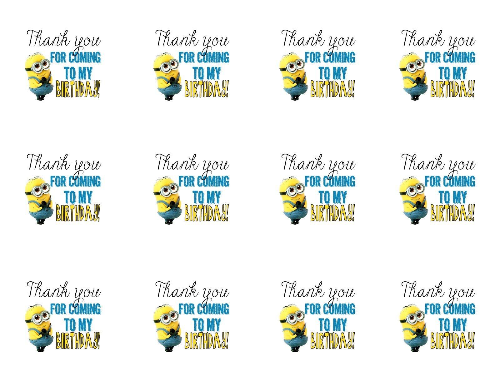 Diy Design Den: Minion Birthday Party With Free Printables. | Lion - Minion Party Ideas Free Printables
