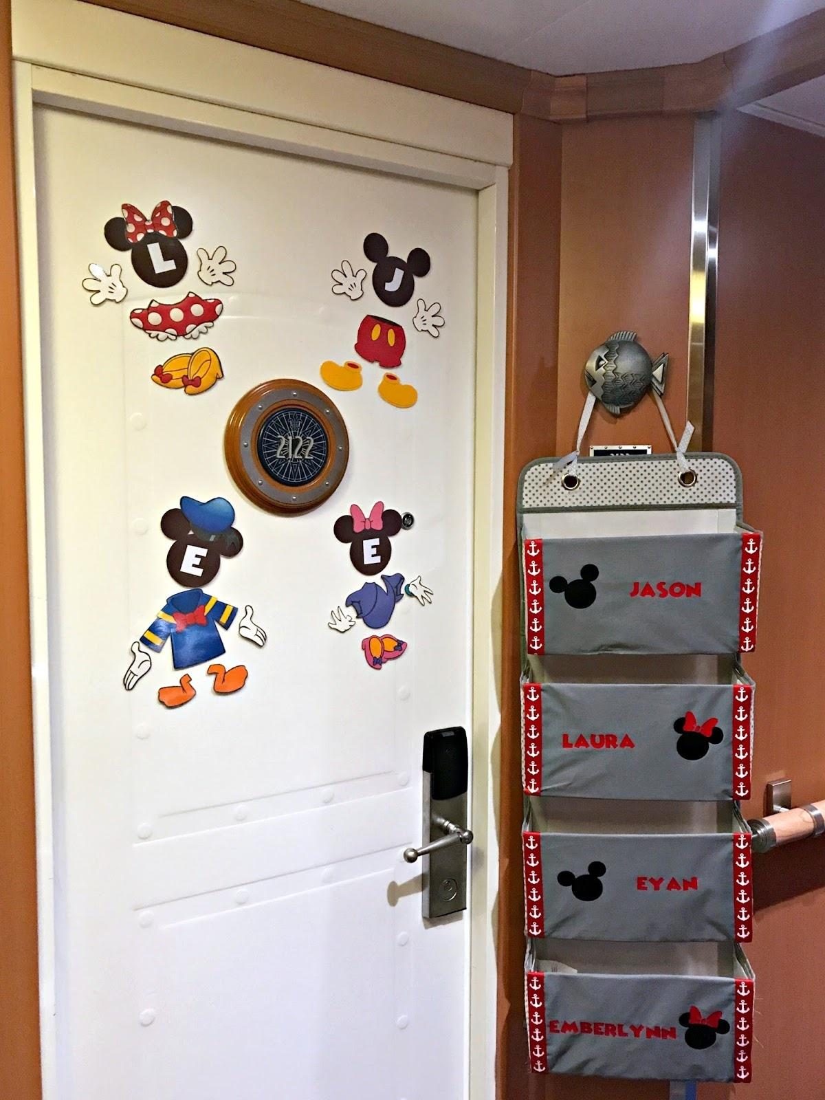 Diy Disney Cruise Door Magnets Printable - We Got The Funk - Free Printable Disney Cruise Door Magnets