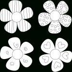 Diy Flower Tutorials You Must Try | 1 | Flower Template, Applique   Free Printable Flowers