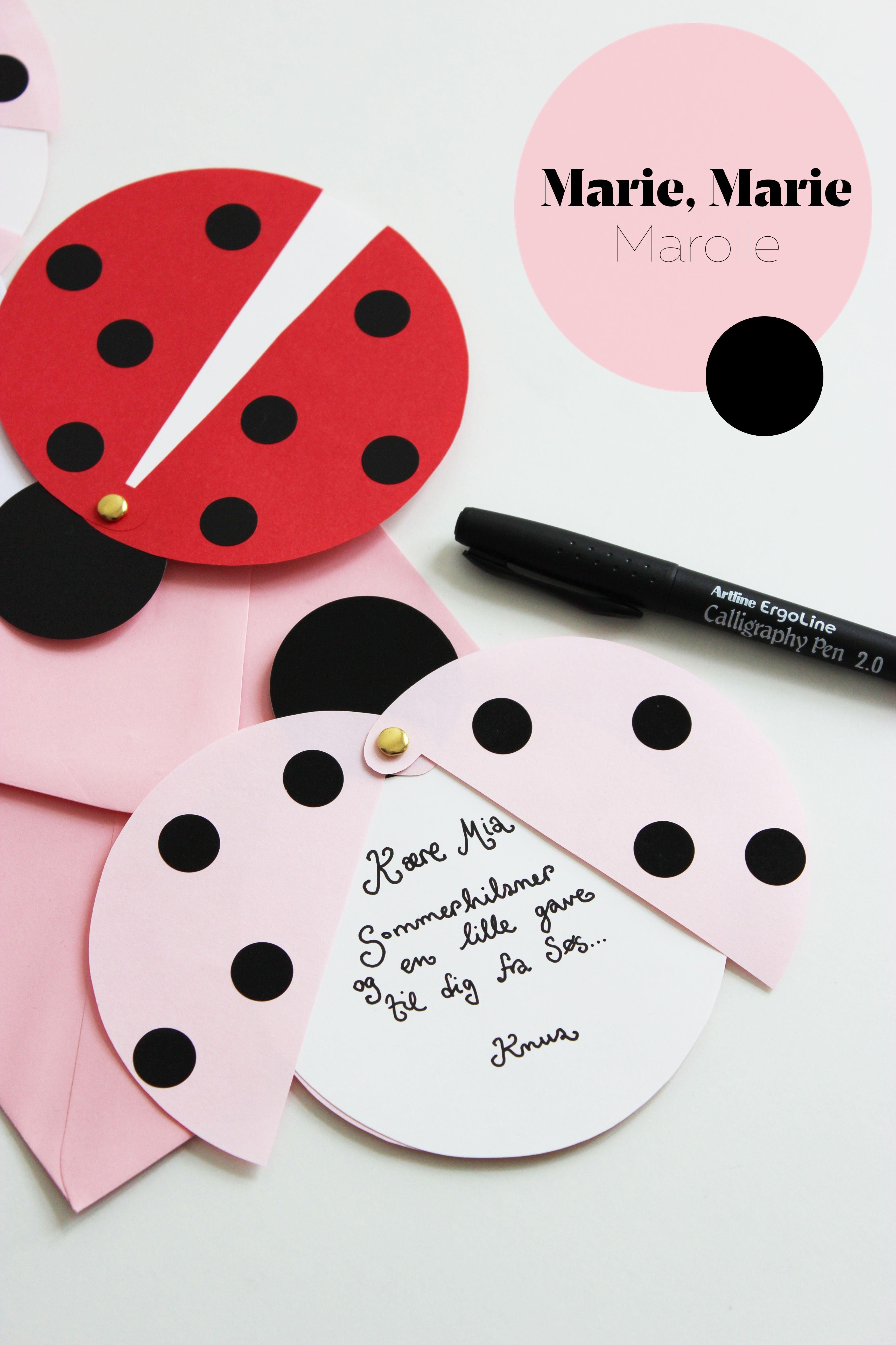 Diy: Ladybug Party Invitations (Free Printable Template) | Father En - Free Printable Ladybug Invitations