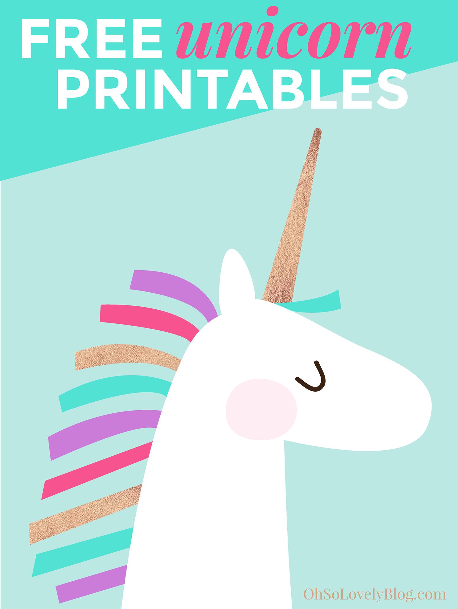 Diy Toddler Bedroom Progress | Unicorn Inspiration | Unicorn - Unicorn Printable Free