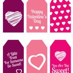 Diy Valentine's Day Gift: Mini Candy Boxes & Printable Gift Tags   Free Printable Valentine Tags
