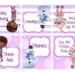 Doc Mcstuffin Party Free Printables   Google Search | Birthday Ideas   Free Printable Doc Mcstuffins Food Labels