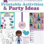 Doc Mcstuffins School Of Medicine Week – Free Printables & Party Ideas   Free Printable Doc Mcstuffins Food Labels