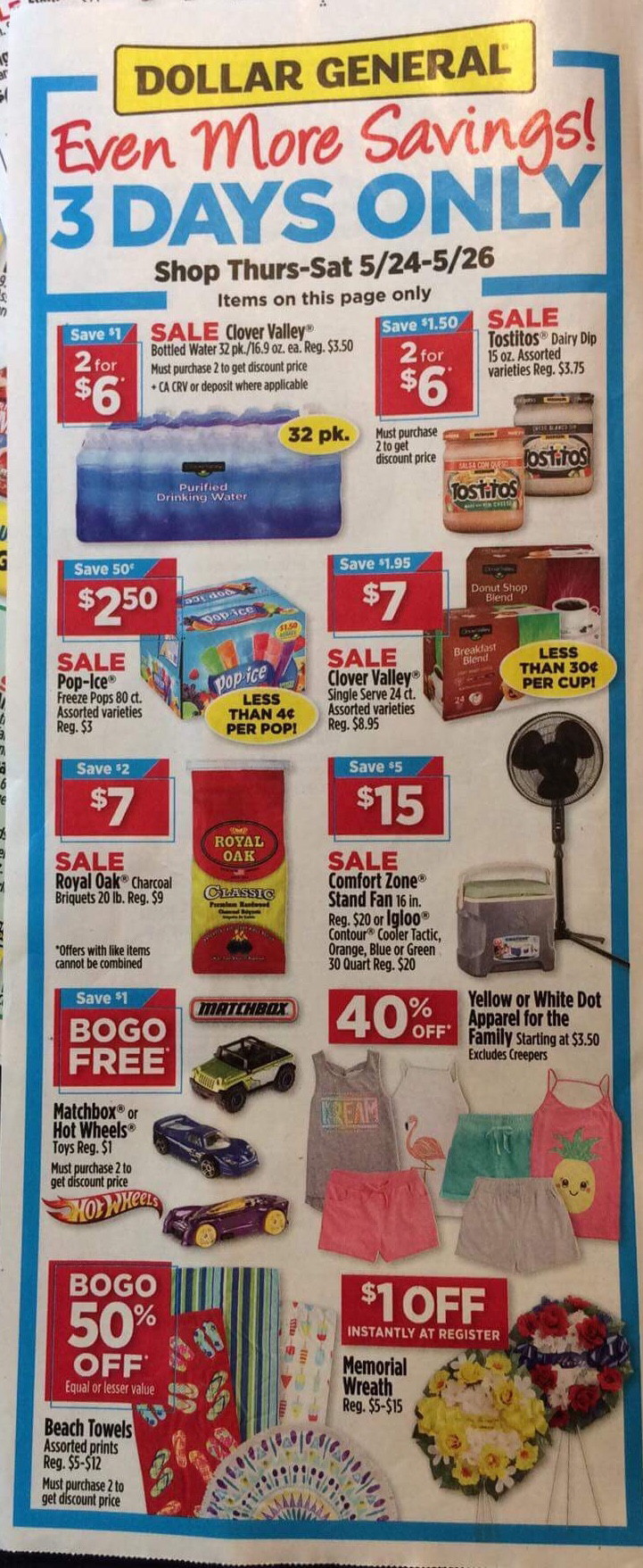 Dollar General Early Ad Scans - Free Printable Pringles Coupons