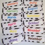 Doodle Bugs Teaching {First Grade Rocks!}: Days Of The Week & Months   Free Printable Months Of The Year Labels