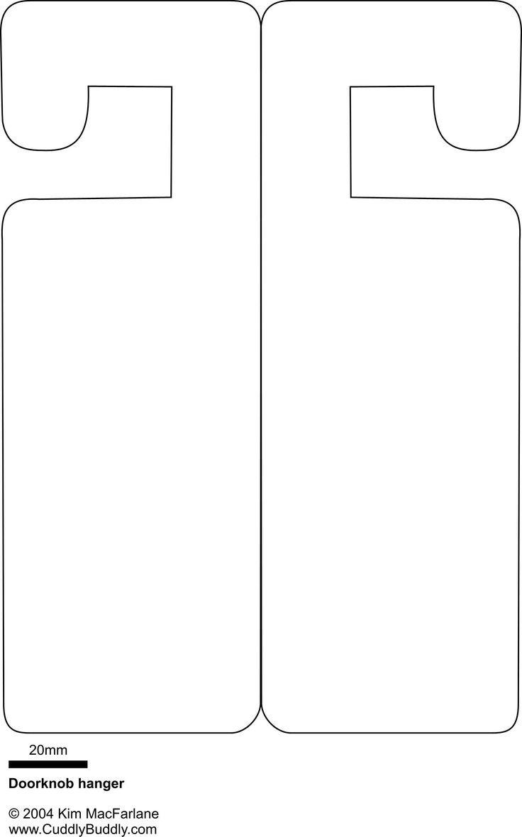Door Hangers Templates Ecosia Free Printable Door Knob Hanger - Free Printable Door Hanger Template