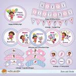 Dora Birthday Printables – Omg Invitation   Free Dora Party Printables