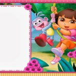 Dora The Explorer: Free Printable Invitations And Party Printables   Free Dora Party Printables