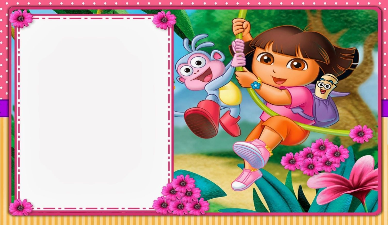 Dora The Explorer: Free Printable Invitations And Party Printables - Free Dora Party Printables