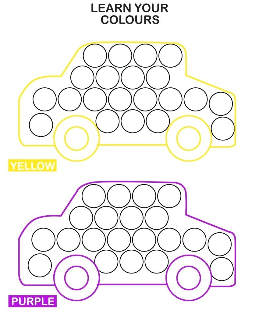Dot Art Printables And Dot Art Throughout Printable Dot Art - Free Dot Painting Printables