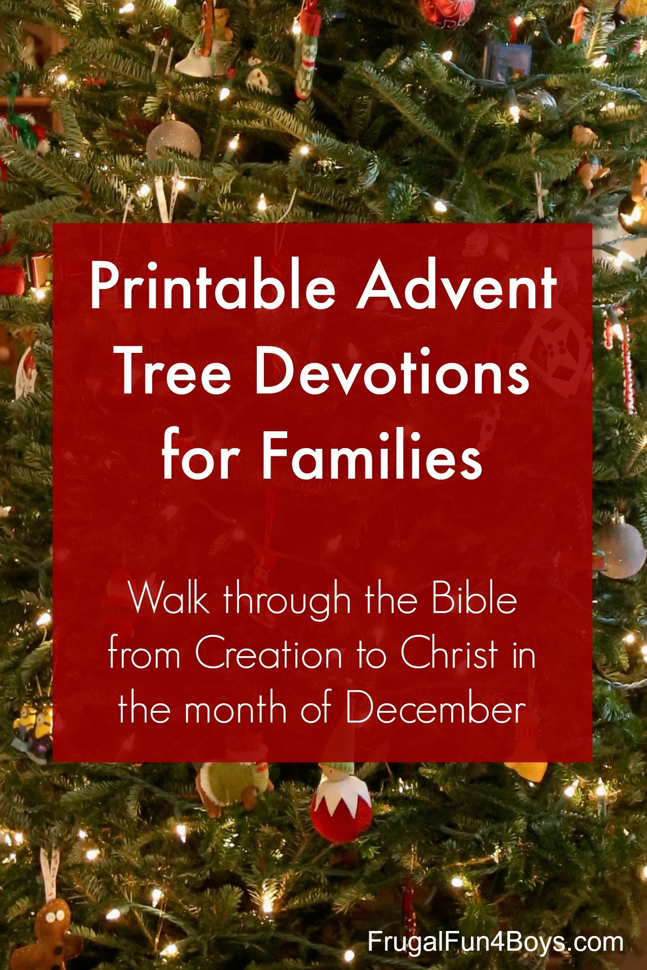 Download And Print Advent Jesse Tree Devotions - Frugal Fun For Boys - Free Printable Advent Devotions