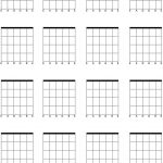 Download Blank Bass Guitar Chord Chart For Free   Formtemplate   Free Printable Blank Guitar Chord Charts