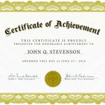 Download Blank Certificate Template X3Hr9Dto | St. Gabriel's Youth   Free Printable Certificates Of Accomplishment