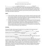 Download Florida Last Will And Testament Form | Pdf | Rtf | Word   Free Printable Last Will And Testament Blank Forms Florida