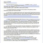 Download Free Alabama Month To Month Rental Agreement   Printable   Free Printable Rental Agreement