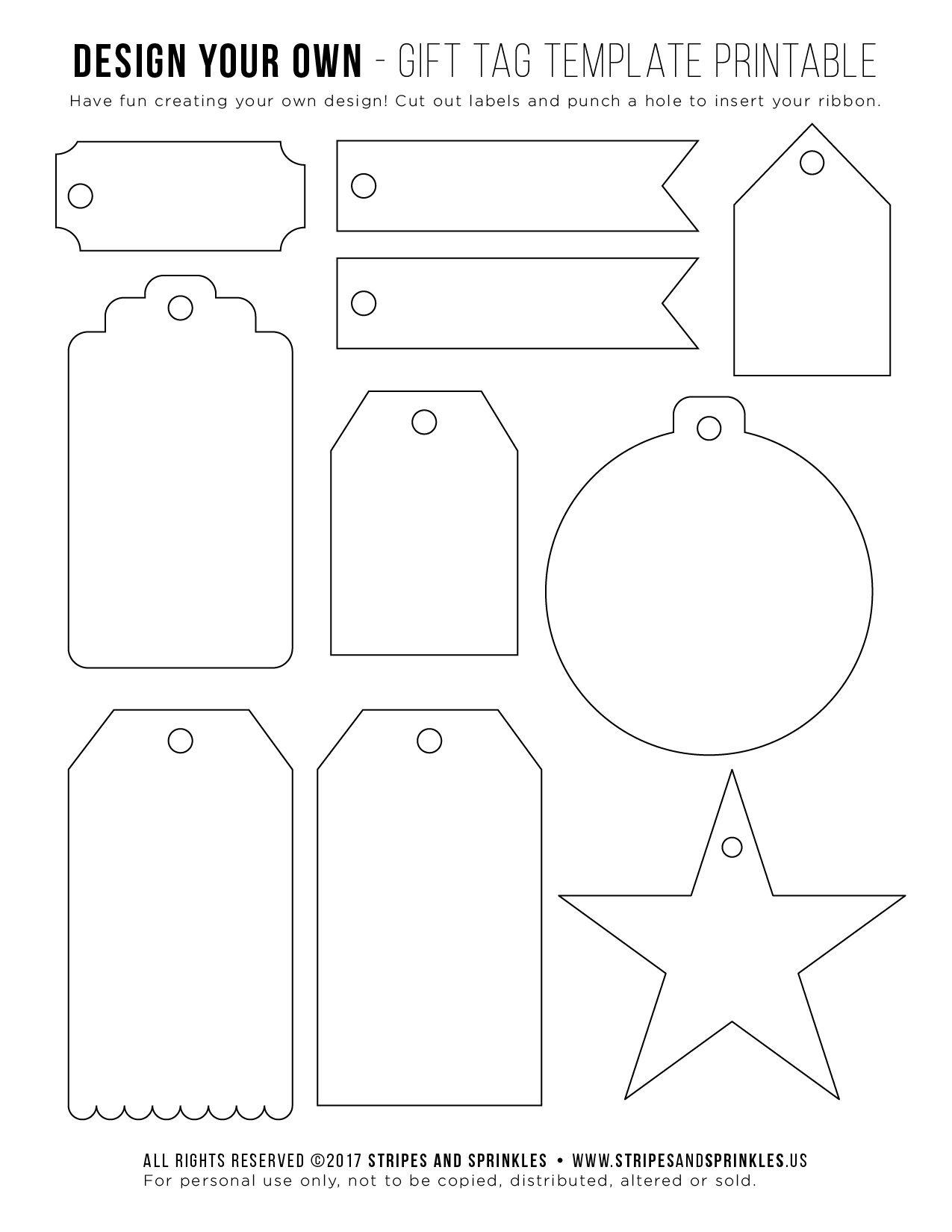 Download Free Printable   باترونات ثيمات   Free Label Templates, Tag - Free Printable Tags Templates