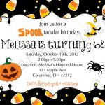 Download Free Template Free Printable Halloween Birthday Party   Free Online Halloween Invitations Printable