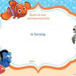 Download Now Free Template Free Printable Finding Nemo Birthday   Free Nemo Printables