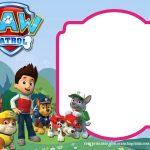Download Paw Patrol Birthday Invitation Template   Most Complete   Paw Patrol Free Printables Invitations