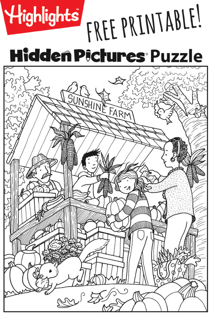 Download This Festive Fall Free Printable Hidden Pictures Puzzle To - Free Printable Hidden Object Games