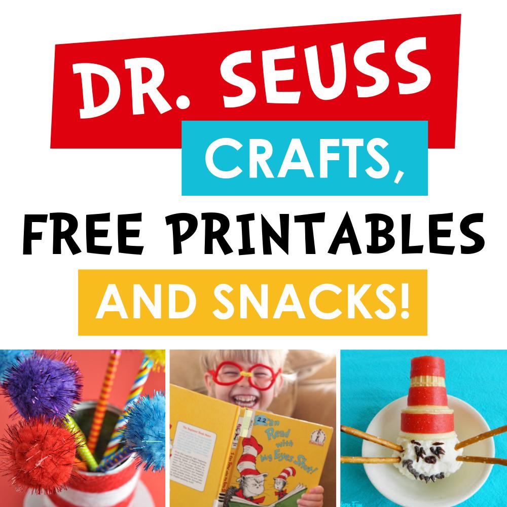 Dr. Seuss Crafts, Free Printables, Snacks   The Dating Divas - Dr Seuss Free Printables