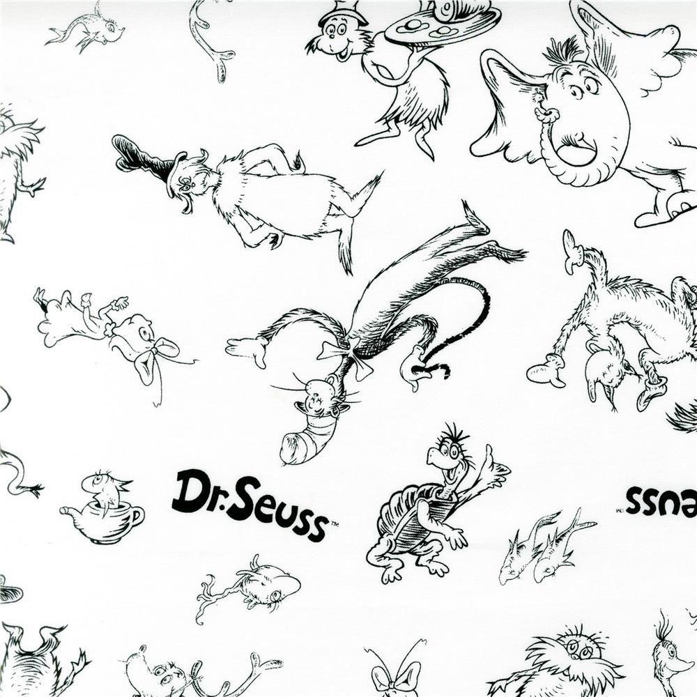 Dr. Seuss Printables | Images Of Dr Seuss Coloring Pages Printable - Free Dr Seuss Characters Printables