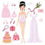 Dress Up Paper Dolls | Free Printable Papercraft Templates   Free Printable Dress Up Paper Dolls