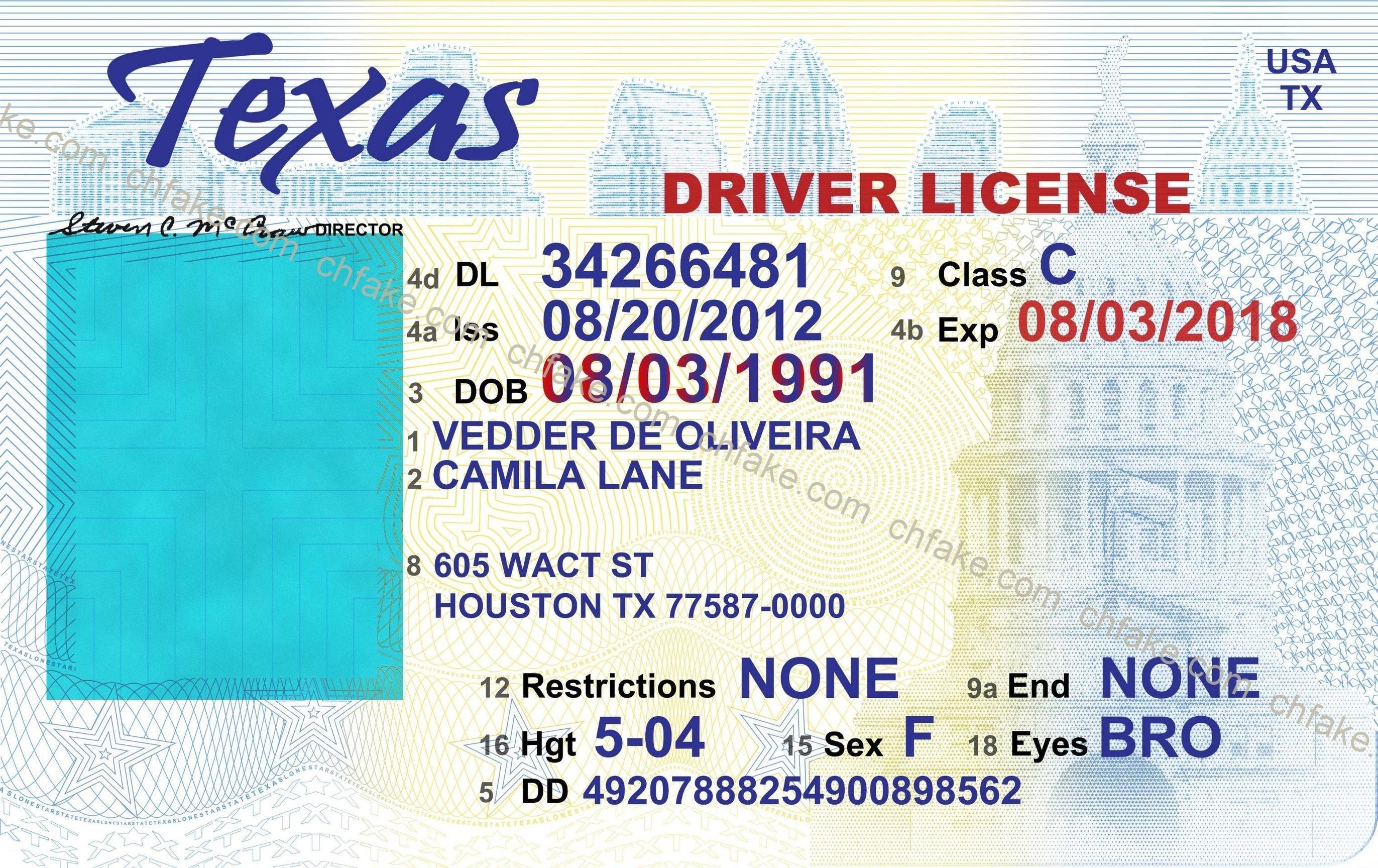 Drivers License Fake - Download Beepmunk Printable Free Texas - Free Printable Fake Drivers License
