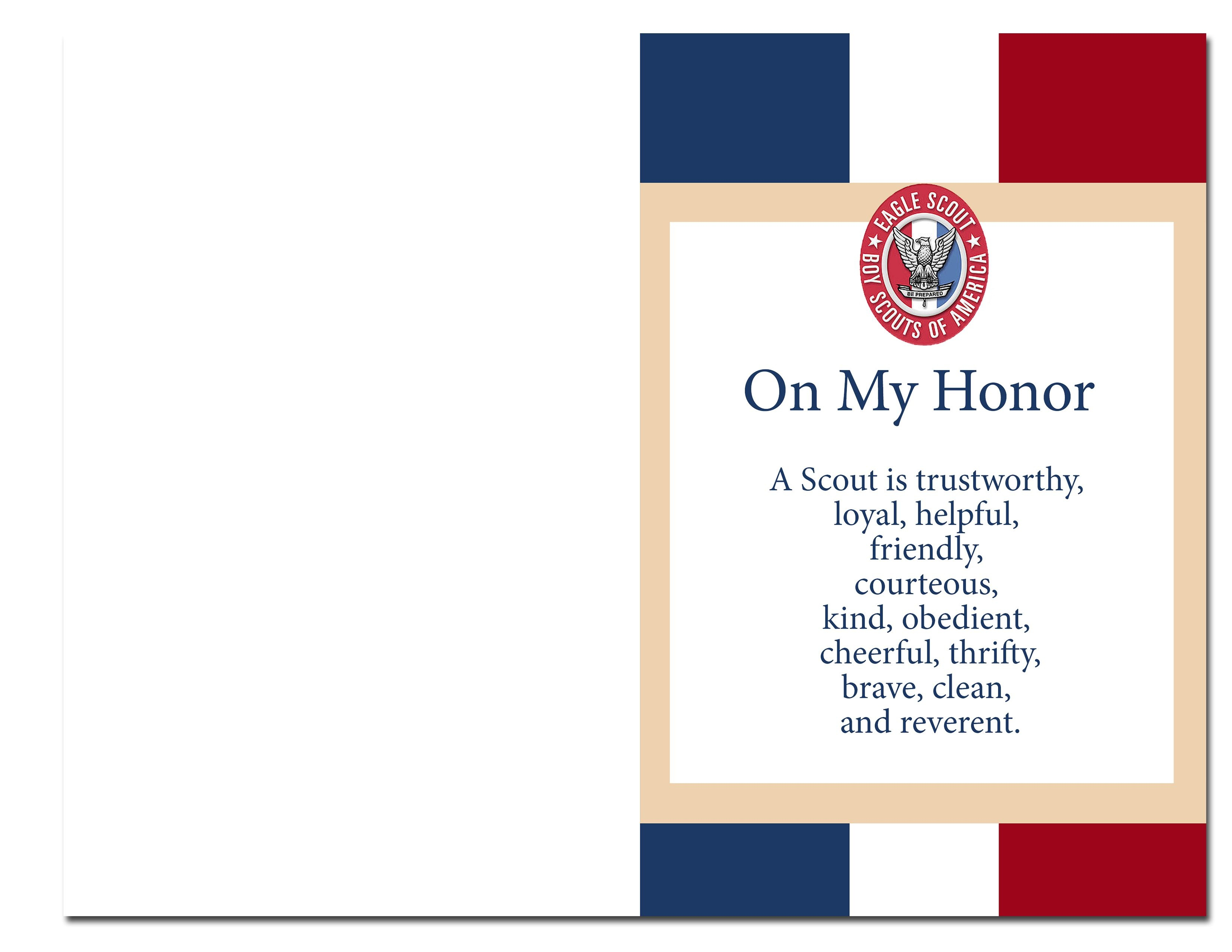 Eagle Scout Court Of Honor Ideas And Free Printables   Information - Free Eagle Scout Printables