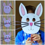 East Coast Mommy: Bunny Mask {Preschool Craft}   Free Printable Easter Masks
