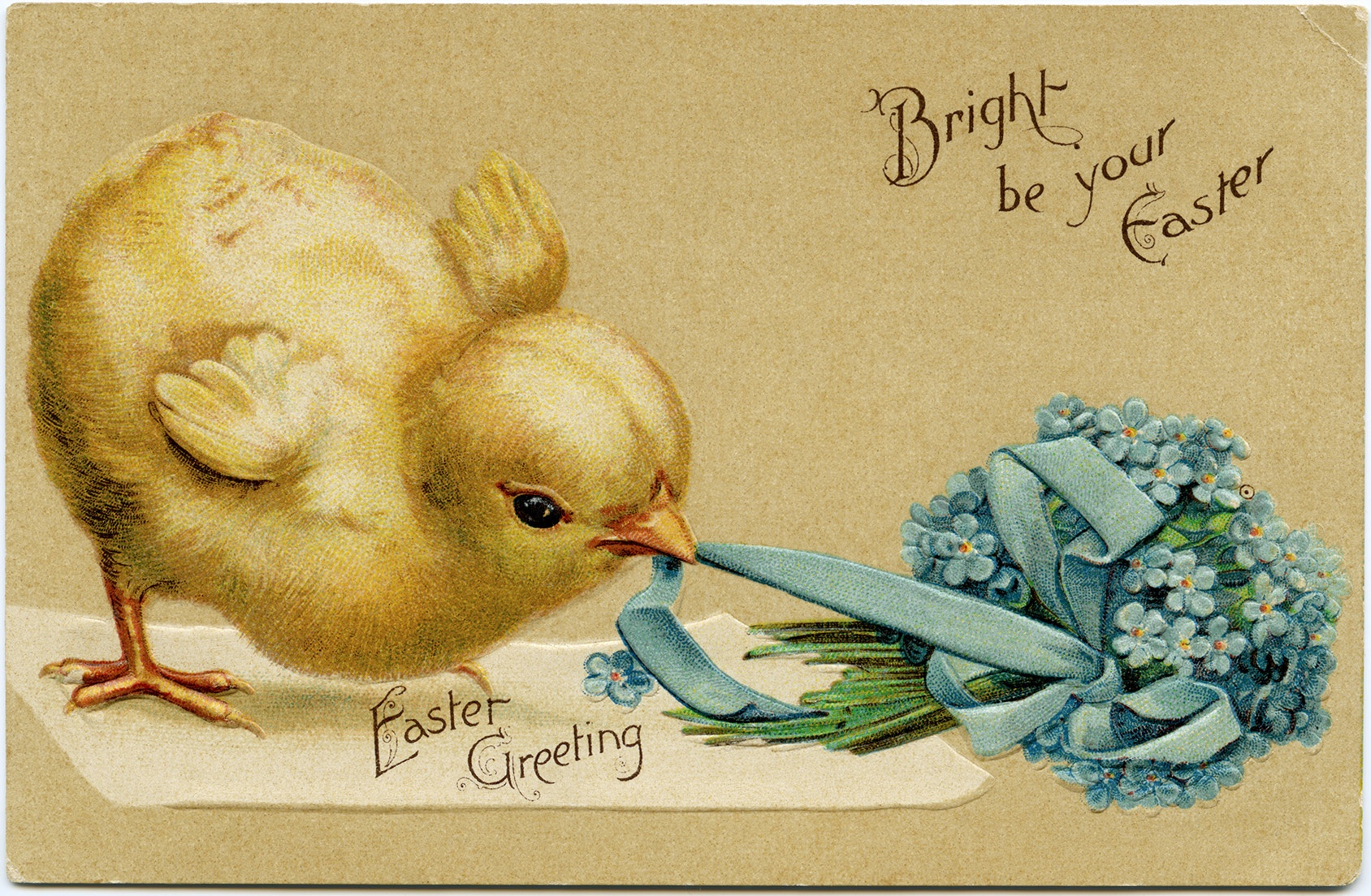 Easter Archives - Page 2 Of 3 - Old Design Shop Blog - Free Printable Vintage Easter Images