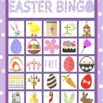 Easter Bingo Game For Kids | Children's Pastor Only | Easter Bingo   Free Printable Religious Easter Bingo Cards